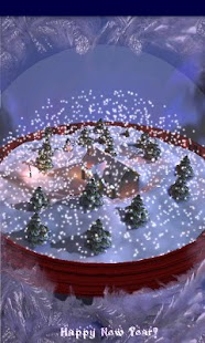 New Years 3D Snow Globe!- screenshot thumbnail