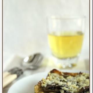 Ricotta Pesto & Mushroom Lasagne