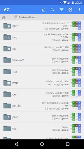 File Explorer Root Add-On