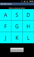 Screenshot of Wordoku Solver