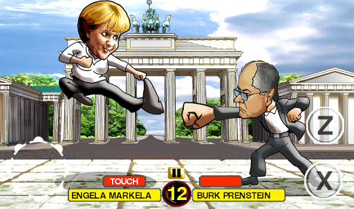 Angry Bundestag Fight Free