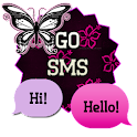 PinkFlower/GO SMS THEME icon