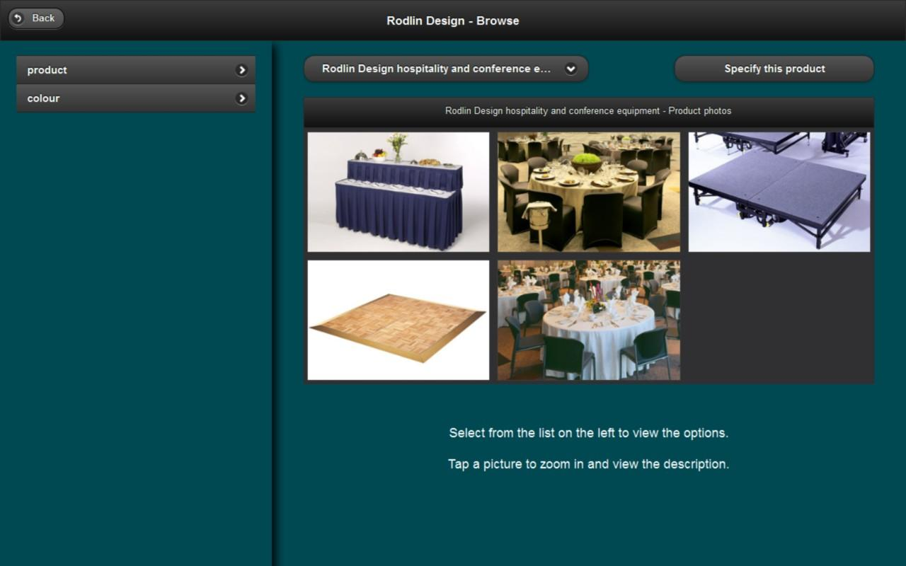 Rodlin Design- screenshot