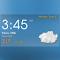 Digital clock weather theme 1 1.3 Apk