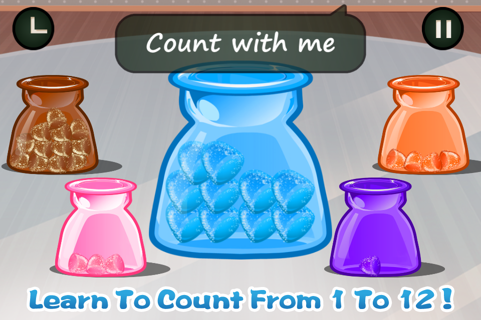 Candy Count - Colors & Numbers- screenshot