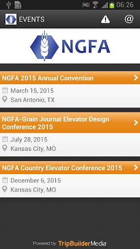 NGFA 2015 Events