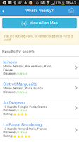 Screenshot of Paris Guide Map for Tourists
