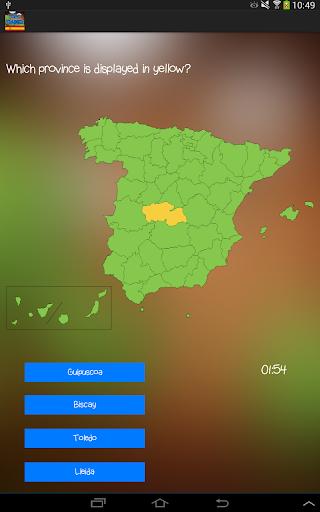 TopoTrainer ES - Geography
