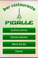 Screenshot of Restaurante Pigalle
