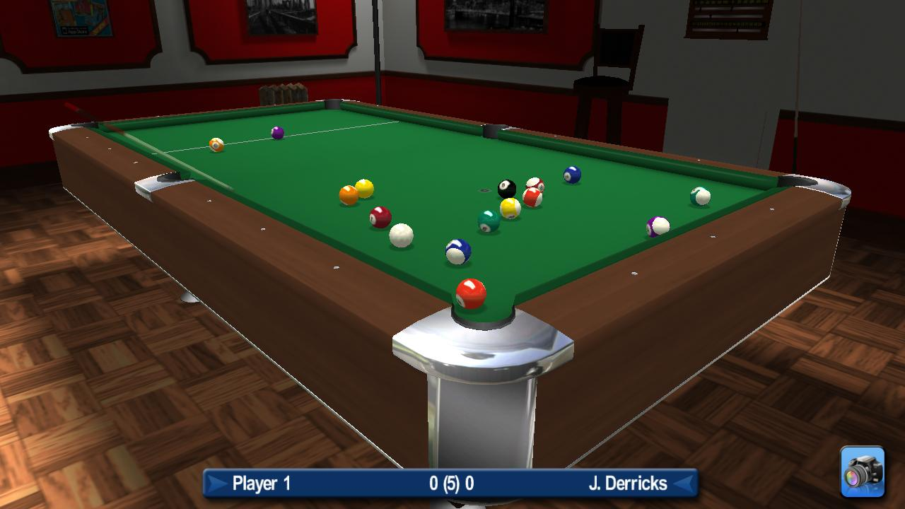Pro Pool 2012 - screenshot