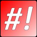 #! Notepad logo
