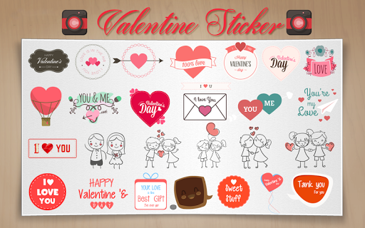 Valentine Photo Sticker