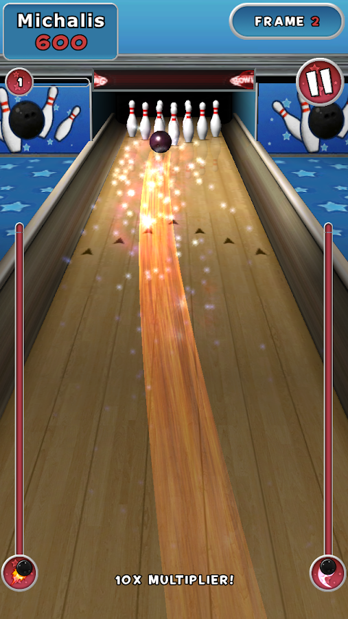Spin Master Bowling- screenshot