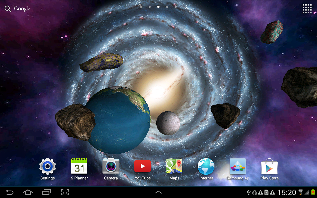 3d Galaxy Wallpaper: Android Apps On Google Play