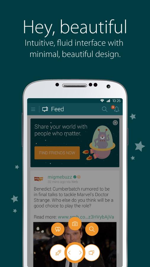 migme- screenshot