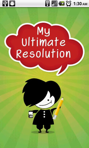 My Ultimate Resolution
