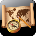 Map and Compass icon