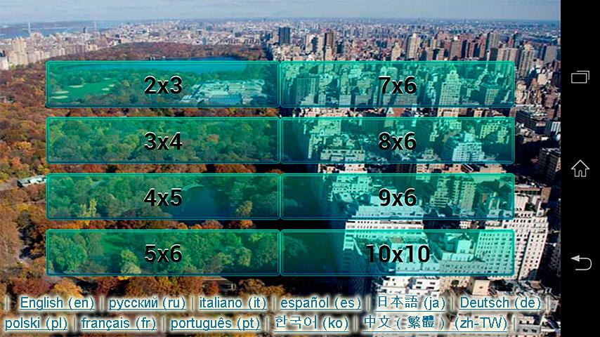NY - Central Park Puzzle - screenshot