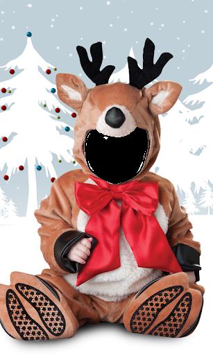 Christmas Baby Photo Montage