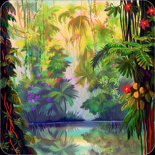 發光叢林壁紙 個人化 App LOGO-APP試玩