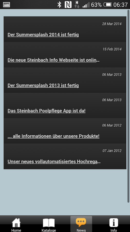Steinbach - Lifestyle- screenshot