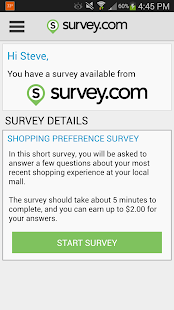 Survey.com Mobile - screenshot thumbnail