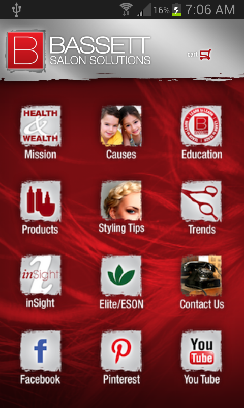 Bassett Salon Solutions- screenshot