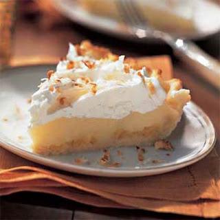 Coconut Cream Pie with Pineapple.