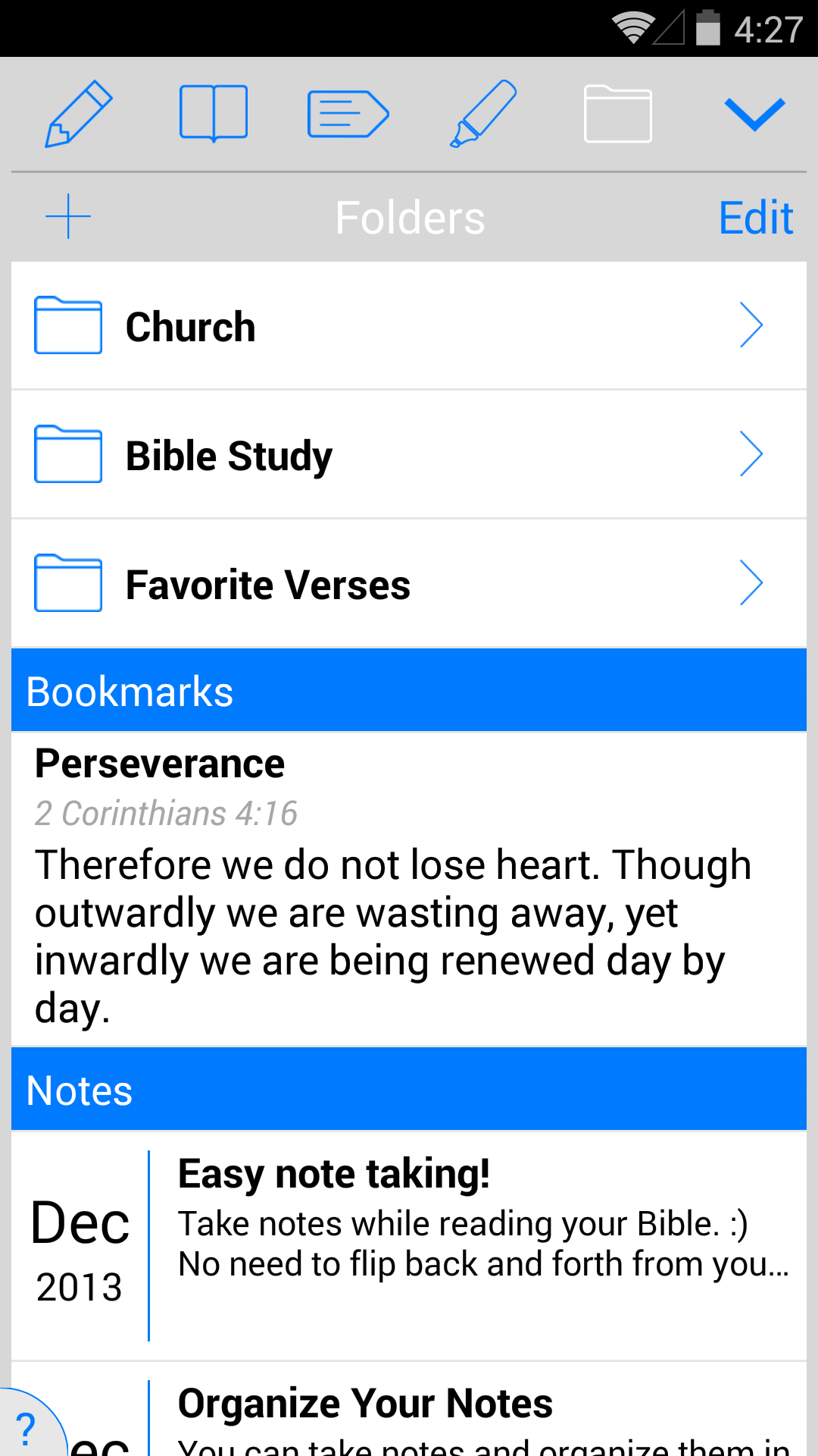NIV Study Bible screenshot #7