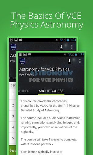 Astronomy For VCE Physics