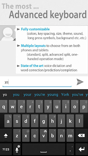 Thumb Keyboard (PhoneTablet) v4.6.2.00.149 APK