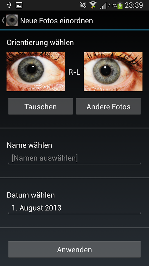 Eye Diagnosis- screenshot