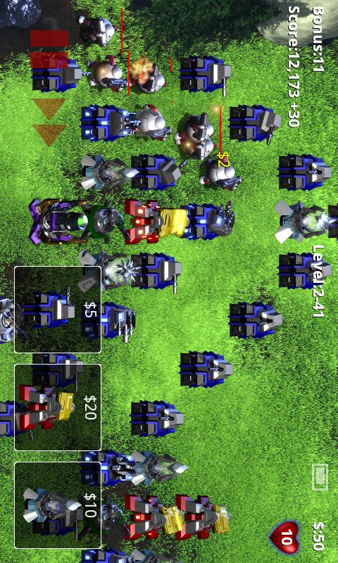 Robo Defense FREE BETA- screenshot