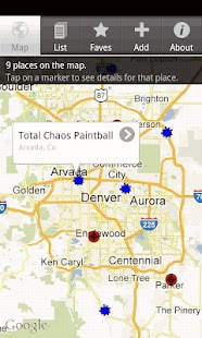Tippmann Paintball Locator screenshot