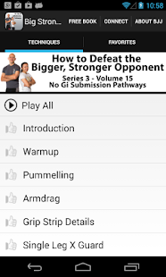 BigStrong 15, Submission Paths - náhled