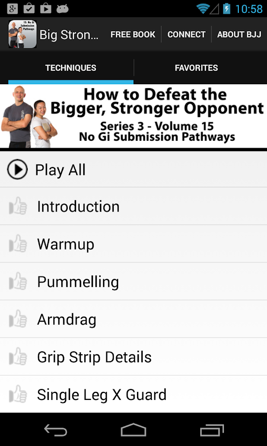 BigStrong 15, Submission Paths - screenshot