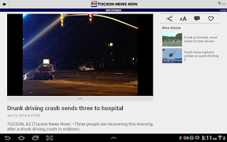 Screenshot of TucsonNewsNow