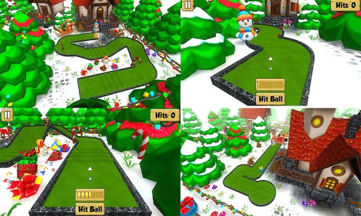Mini Golf Xmas