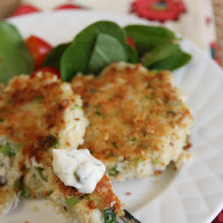 Quick Crab Cakes with Remoulade.