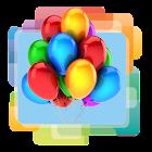 Balões Parede Animado icon