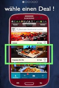 Grab One Deals für Deine Stadt- screenshot thumbnail