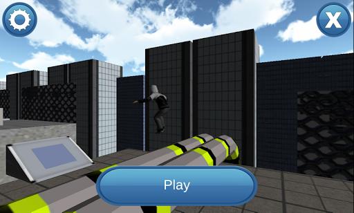 跑酷屋顶跳跃3DPro