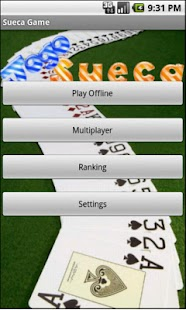 Sueca Game Multiplayer - screenshot thumbnail