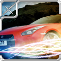 Extreme car drift run 3D icon
