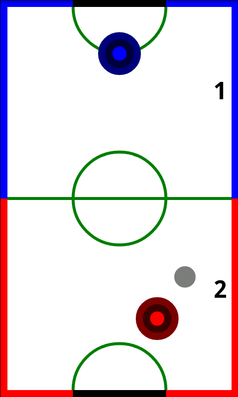 Air Hockey Classic HD - screenshot