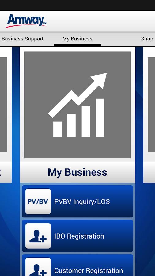 Amway™ Business App - screenshot