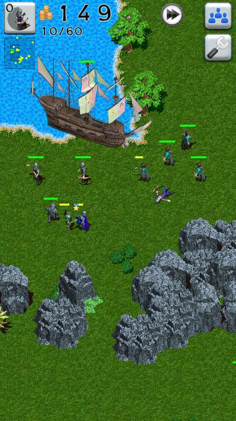 Defense Craft Strategy HD Free - screenshot