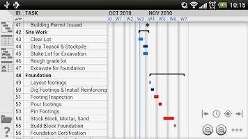 Screenshot of Project Viewer