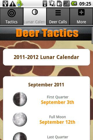 Deer Calls & Tactics- screenshot