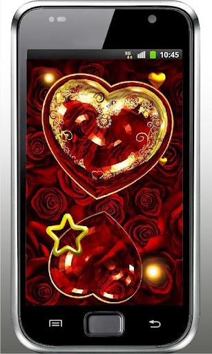 Romantic Heart live wallpaper